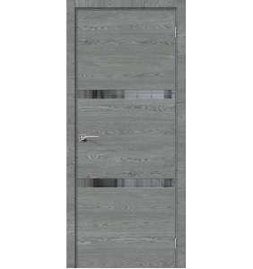 ЭКО Порта 55 С Алюминиевой кромкой West Skyline Mirox Grey